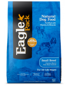 30# Eagle Pack Small Breed Chicken & Pork og