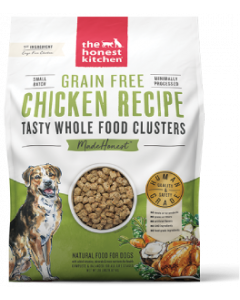 20# Honest Kitchen Whole Food Clusters Grain Free Chicken Dog Food
