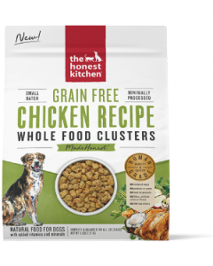 5# Honest Kitchen Whole Food Clusters Grain Free Chicken Dog Food