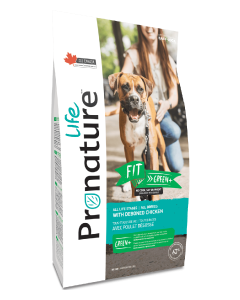 25# Pronature Life All Stages Dog Food Fit Chicken