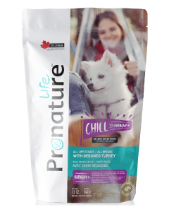 .75# Pronature Life All Stages Dog Food Chill Turkey
